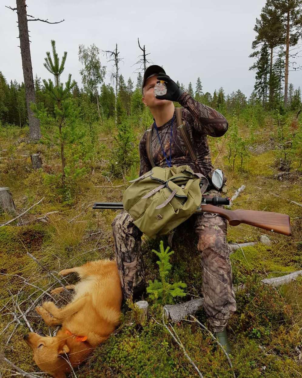 Huilitauko kanalinnustuksen avauspäivänä Ruotsissa 2019